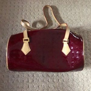 Arcadia Red Patent Leather Bag